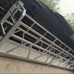 zlp630 / 800 ll kuju alumiiniumisulamist, teraskonstruktsiooniga peatatud tööplatvormi tõste hoone aknal