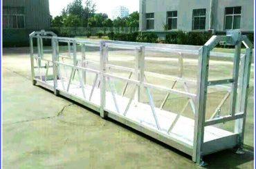terasest / alumiiniumist tööplatvormid sal-seeria turvaplokiga