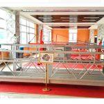 zlp630 alumiiniumist platvorm (ce iso gost) / kõrghoone puhastusseadmed / ajutine gondola / häll / kiik staatus kuum
