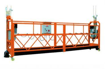 2.5mx 3 sektsiooniga 1000kg riputusplatvormi tõstekiirus 8-10 m / min
